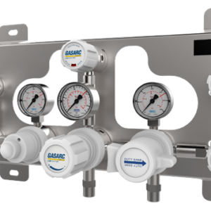 Gas Arc Autochange gas control panel