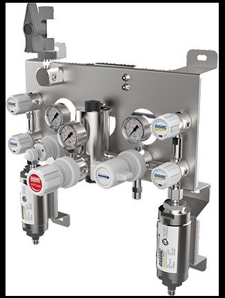 Gas Arc autochange gas control panel acetylene gas equipment