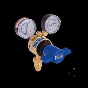 Hi-Lo UK Gas Equipment Single Stage Oxygen Regulator Base Entry