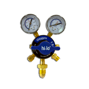 Hi-Lo UK gas equipment two stage oxygen regulator gas regulator